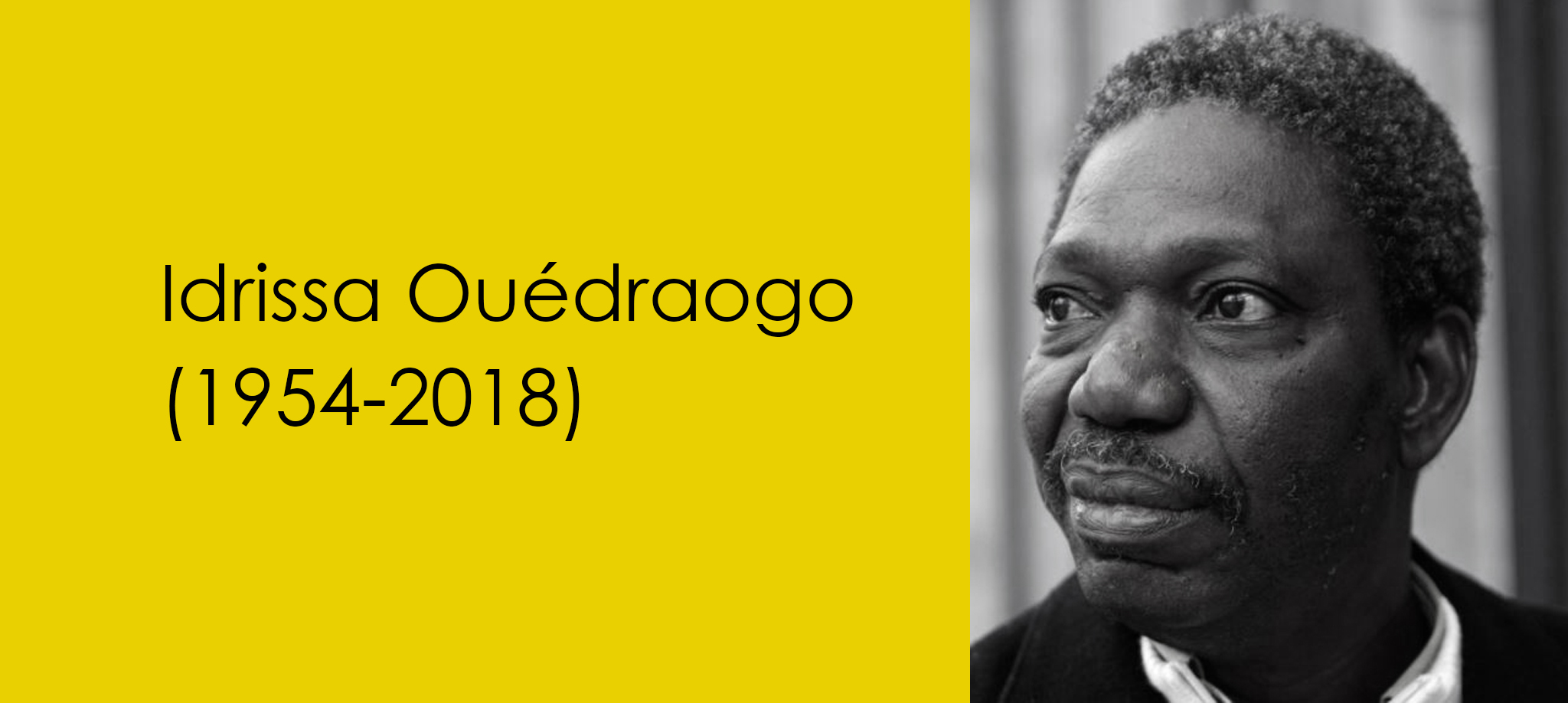 Idrissa Ouédraogo